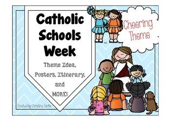 Catholic Schools Week - Cheering Theme