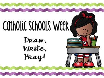 Catholic Schools Week: Draw, Write, Pray!
