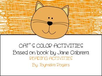 Cat's Color Book Activity Pack