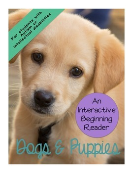 Dogs & Puppies Nonfiction Interactive Beginning Reader Boo