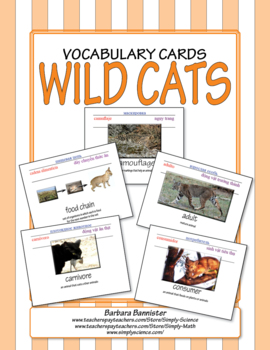 Cat Word Cards