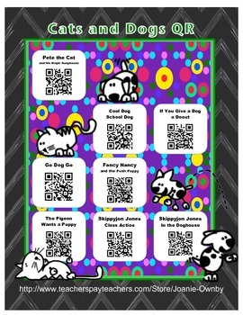 Cats and Dogs Books QR