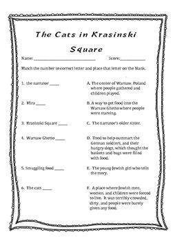 Cats of Krasinski Square Questions