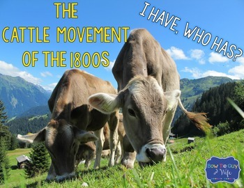 Cattle Trails and Cattle Movement of the 1800s {interactiv