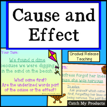 Cause Effect Power Point