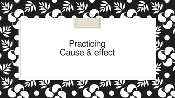 Cause & Effect Review PowerPoint