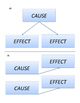 Cause & Effect Sort using Charts with Nonfictional Text (G