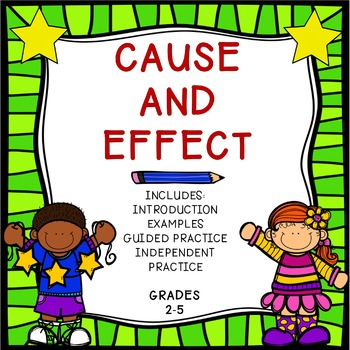 Cause and Effect {No-Prep Activities}