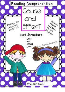 Cause and Effect 2nd and 3rd Grade