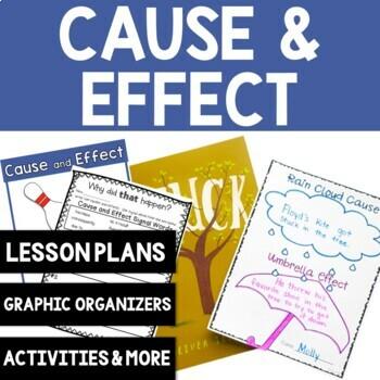 Comprehension Skill:Cause and Effect: 8 Common Core Aligne