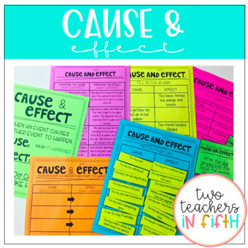 Cause and Effect Activity Bundle