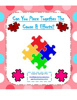 Cause and Effect Activity Packet-Aligned to the Common Cor