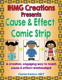 Cause and Effect Comic Strip Activity (Common Core)