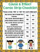 Cause and Effect Comic Strips (Common Core)