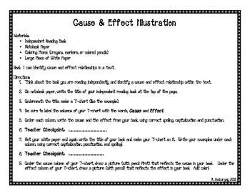 Cause and Effect Engaging Activities
