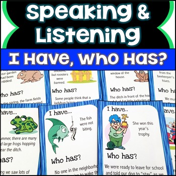 Cause and Effect Speaking & Listening I Have, Who Has Game