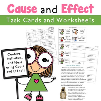 Cause and Effect Ideas and Activities