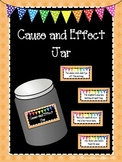 Cause and Effect Jar for Workstations and Centers
