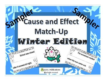 Cause and Effect Match-Up Winter Edition Lite