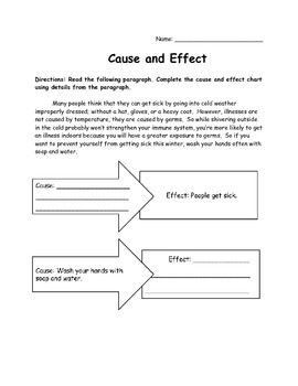 Cause and Effect Nonfiction