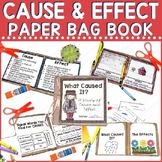 Cause and Effect Paper Bag Mini Book Project