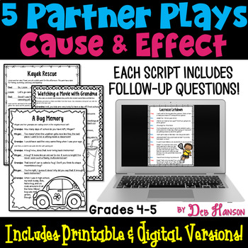 Cause and Effect Partner Plays