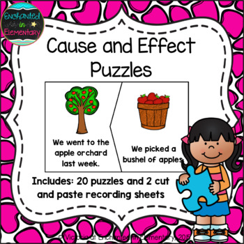 Cause and Effect Puzzles