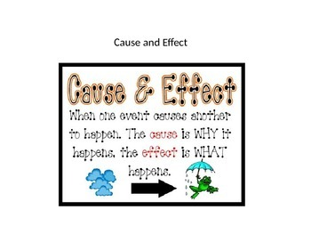 Cause and Effect QR code activity