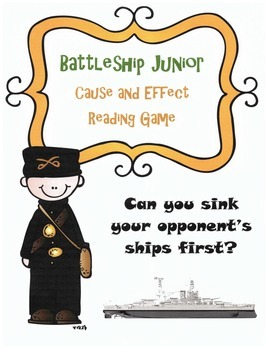 Cause and Effect Review Game: Battleship (Fiction and Nonf