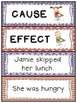Cause and Effect: Sorting, Games, Worksheets, and More! -