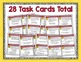 Cause and Effect Task Cards and Poster Set - Common Core Aligned