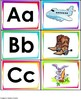 Spanish Alphabet Flashcards and Matching game.