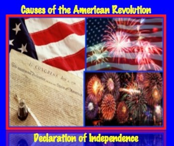 Causes of American Revolution: Declaration of Independence