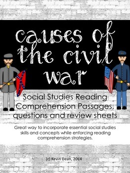 Causes of Civil War Reading Packet