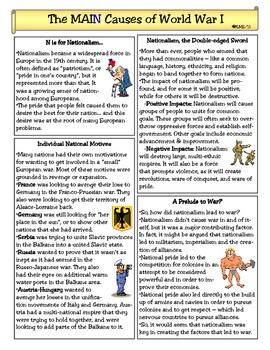 World War One Worksheets Worksheets For School - Beatlesblogcarnival