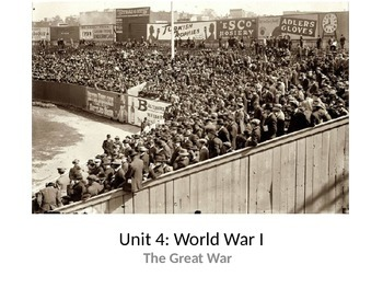 Causes of WWI PowerPoint and Guided Notes