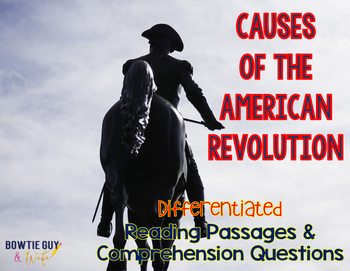 Causes of the American Revolution Differentiated Nonfictio