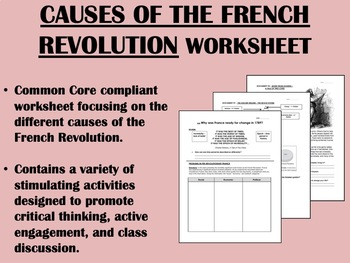 Causes of the French Revolution - Global/World History Com