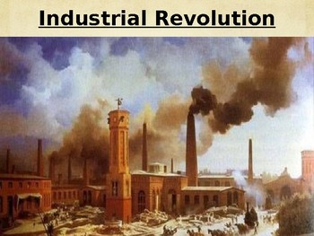 Causes of the Industrial Revolution In Great Britain - PowerPoint