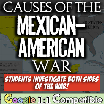 Causes of the Mexican-American War:  A Mini DBQ! Students