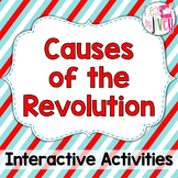 American Revolution: Causes of the Revolution Interactive