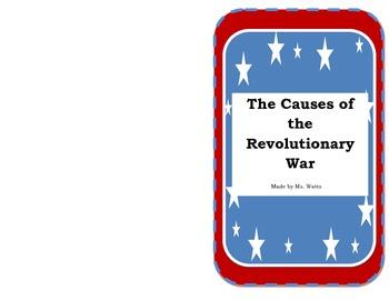 Causes of the Revolutionary War- South Carolina