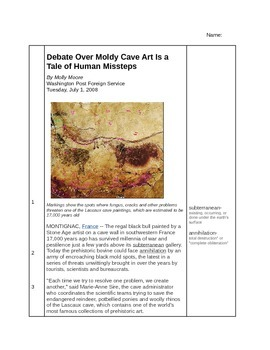 Cave Painting Close Reading