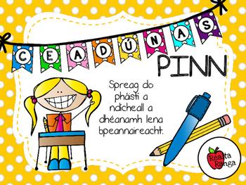 Ceadúnas Pinn - Ag Feabhsú Peannaireachta // Pen Licence -