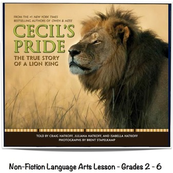 Cecil's Pride by Hatkoff Lesson Plan