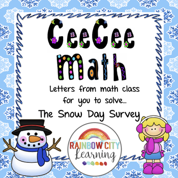 Word Problem - CeeCee Math: Letters From Math Class - The