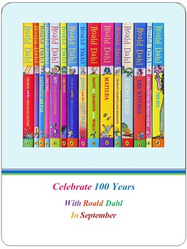 Celebrate 100 Years With Roald Dahl In September