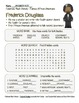 Celebrate Black History Month - Frederick Douglass -Word S