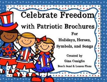 Celebrate Freedom: Patriotic Brochures for Holidays, Heroe