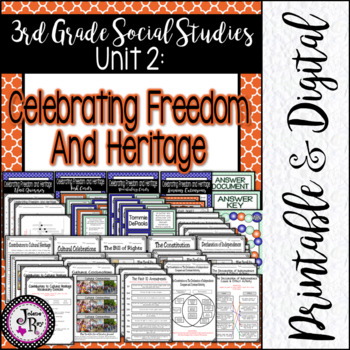 Celebrate Freedom Week: TRS Unit 2: 3rd Grade TEKS Based S